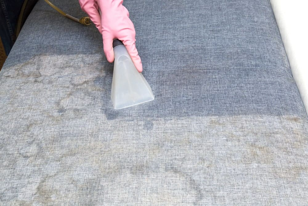 cleaning fabric upholstery tips