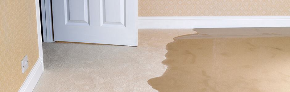 home emergency flooding wet floor